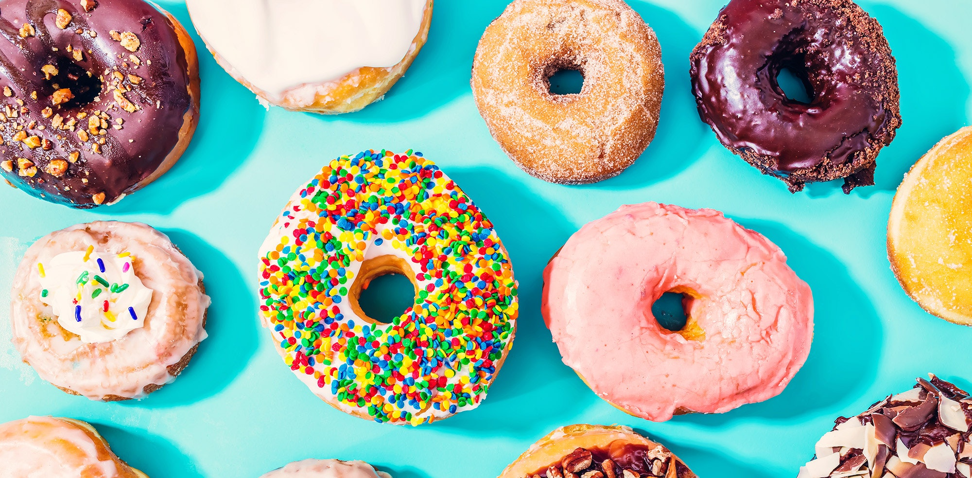 Donuts were created by Dutch immigrants